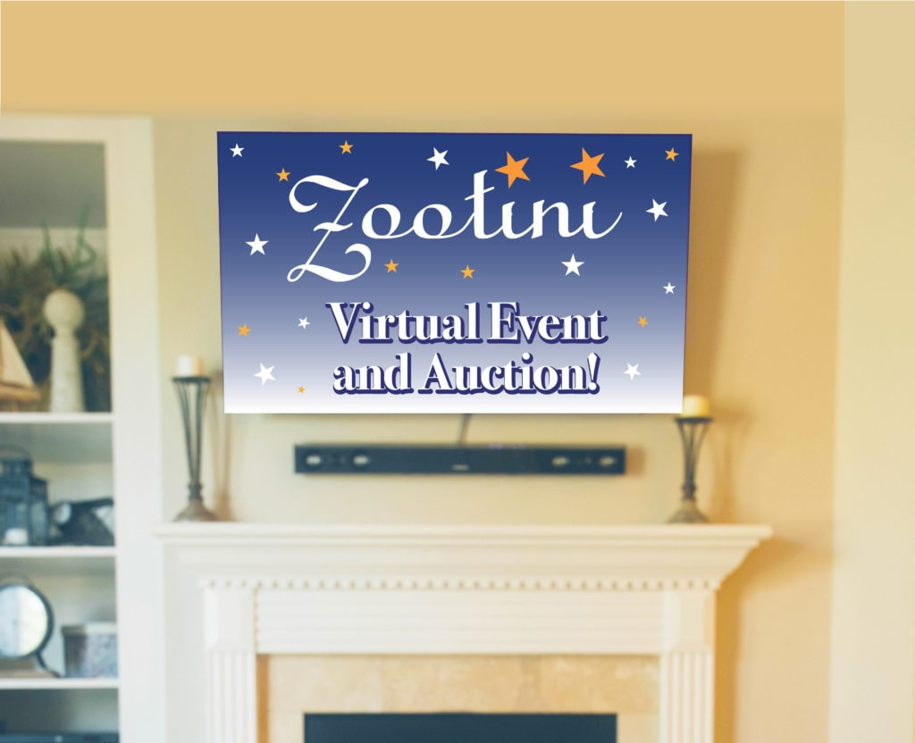 sequoia park zoo zootini 2020 virtual event and auction sign
